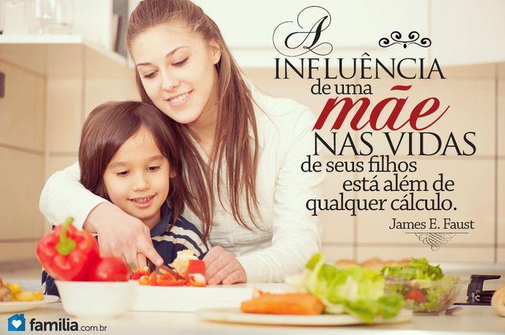 A influência de uma mãe está além de qualquer cálculo