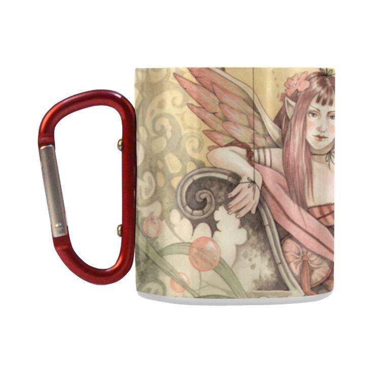 Puppet Fairy Buring Man Mug
