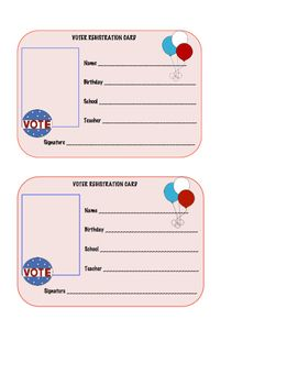 how to get my voter registration card