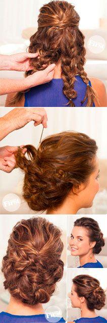 Terrific 1000 Images About Wedding Hair Styles On Pinterest Bridal Short Hairstyles Gunalazisus