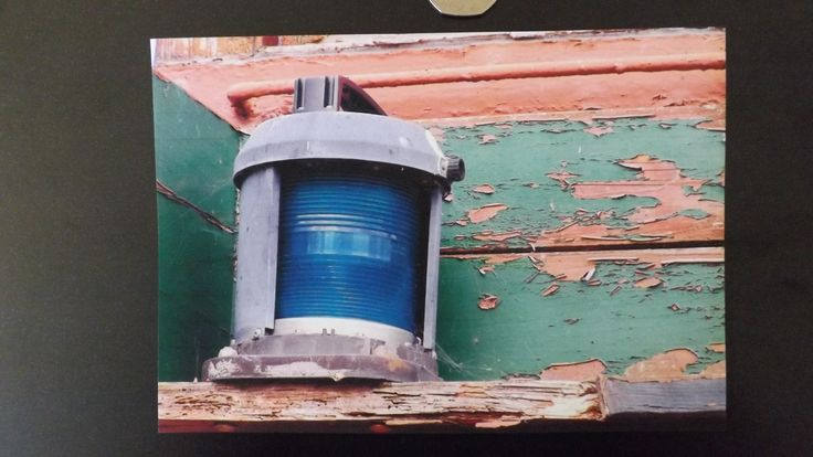 "Blank Card 5""x7"" Boat Light at Maldon. with envelope £1.75"