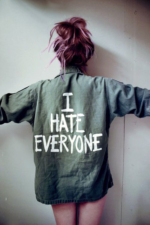 LOL me too..I'm gonna do this to one of my denim jackets. Either this or Grow Up. ♥