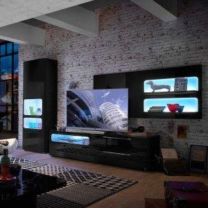 Trend Wohnw nde u TV Lowboards daheim de von Segm ller
