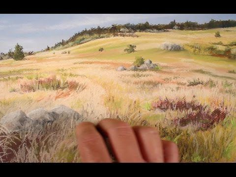 How to Draw a Beautiful Landscape with Soft Pastels•Art Instruction Blog
