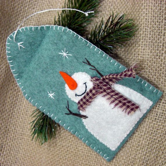 Snowman Gift tag