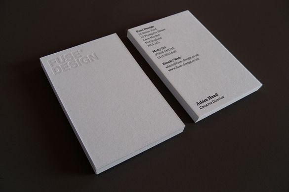 Fuse Design Business Cards