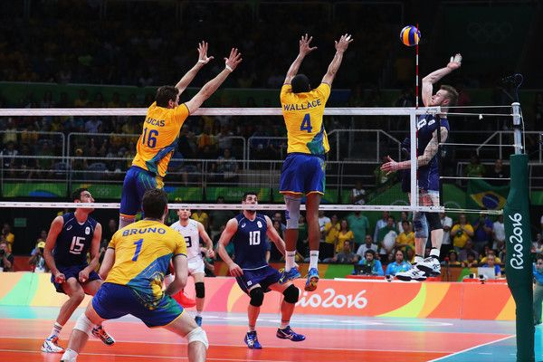 Ivan Zaytsev Photos - Ivan Zaytsev of Italy spikes the ball during the Men's Gold Medal Match between Italy and Brazil on Day 16 of the Rio 2016 Olympic Games at Maracanazinho on August 21, 2016 in Rio de Janeiro, Brazil. - Volleyball - Olympics: Day 16