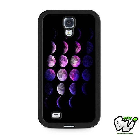 Nebula Galaxy Moon Phases Samsung Galaxy S4 Case