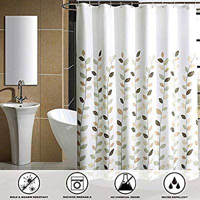 Amazoncom Shu Ufanro Mildew Resistant Shower Curtain Waterproof