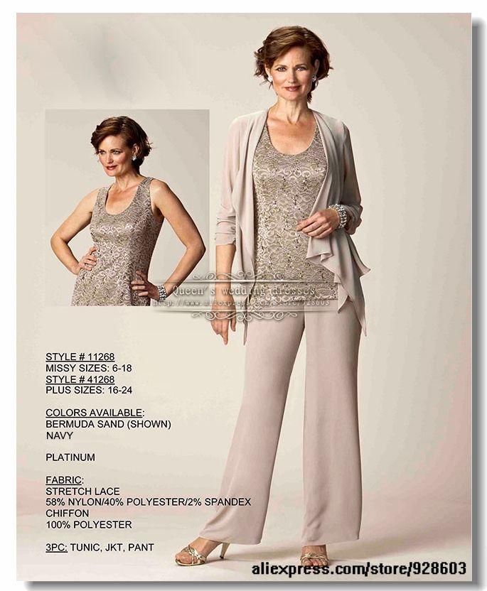 44 best dressy pants suits images on Pinterest Bride dresses