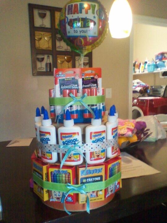 Birthday Cake Idea For A Kindergarten Teacher