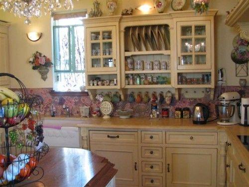 Romantic Victorian Home Decor Kitchen Pinterest