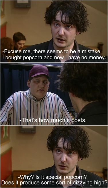Dylan Moran makes most things better.