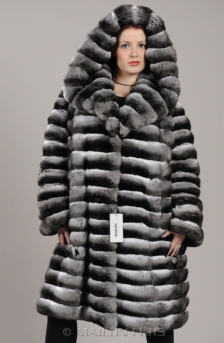 117 chinchilla coat - Google Search
