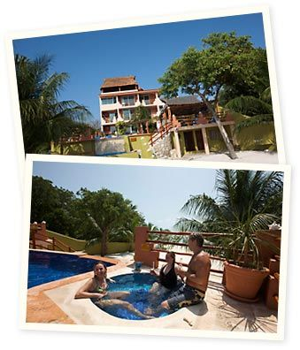 This is the private home we rented in October 2011 on Isla Mujeres, Mexico. It was beautiful and so nice for our family of 8. We'd defintely go back!