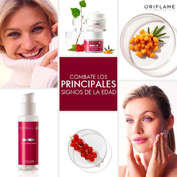 ¡Protege, revitaliza y rejuvenece tu piel con la nueva línea Optimals Age Revive!