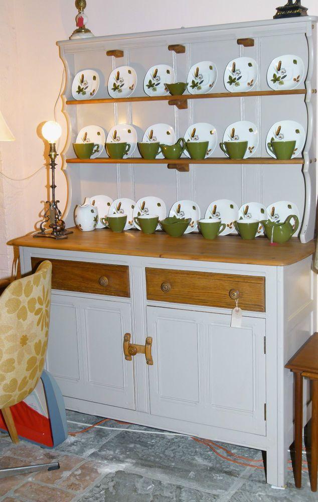 Ercol Dresser/Sideboard Vintage Mid Century Shabby  in Hardwick White