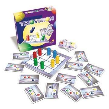 Triovision (Huch&Friends) - gyerek logikai és képességfejlesztő társasjáték 7 éves kortól - Hutter