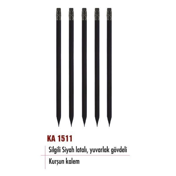 ... Silgili siyah latalı, yuvarlak gövdeli kurşun kalem KA 1511 ... Tüm ürünler için beğen >>> @propagandakktc