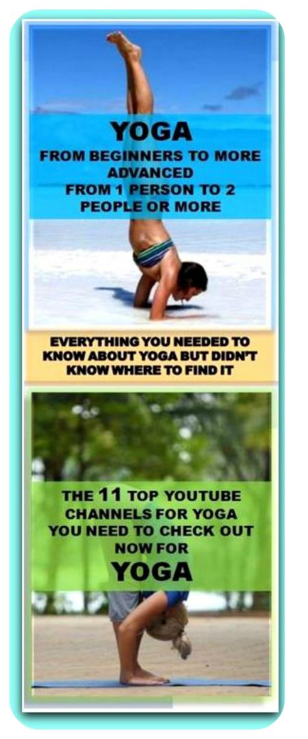 Yoga-11 Of The Top Channels On YouTube To Help You Master It http://dietdon.com/yoga-11-of-the-top-channels-on-youtube-to-help-you-master-it/