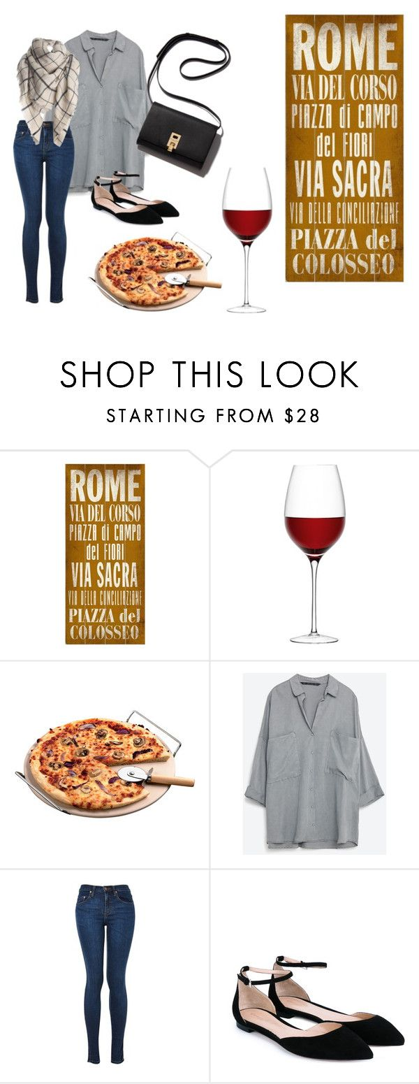 #Rome! by slounis on Polyvore featuring moda, Gianvito Rossi, ArteHouse and LSA International