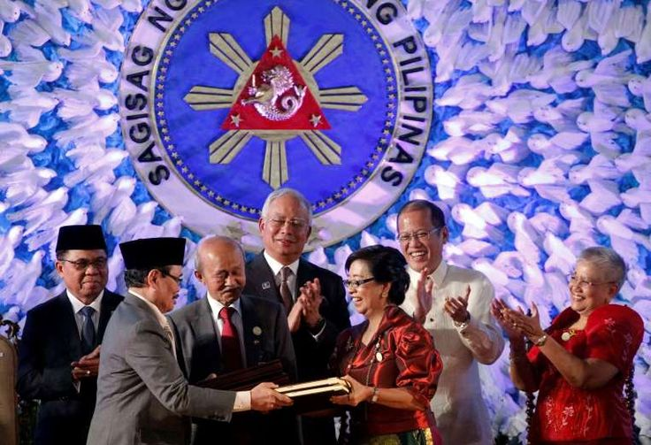 March 27,  2014: PHILIPPINES SIGNS PEACE ACCORD  -  Philippines signs a peace accord with the largest Muslim rebel group, the Moro Islamic Liberation Front, ending decades of conflict.