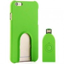Gadgets iPhone 6 - Coque de protection télécommande bluetooth photo pour iPhone 6 écran 4.7 pouces - nemtytab.com