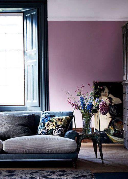 Die besten 25+ Lila interieur Ideen auf Pinterest Purple home - wohnzimmer lila weis