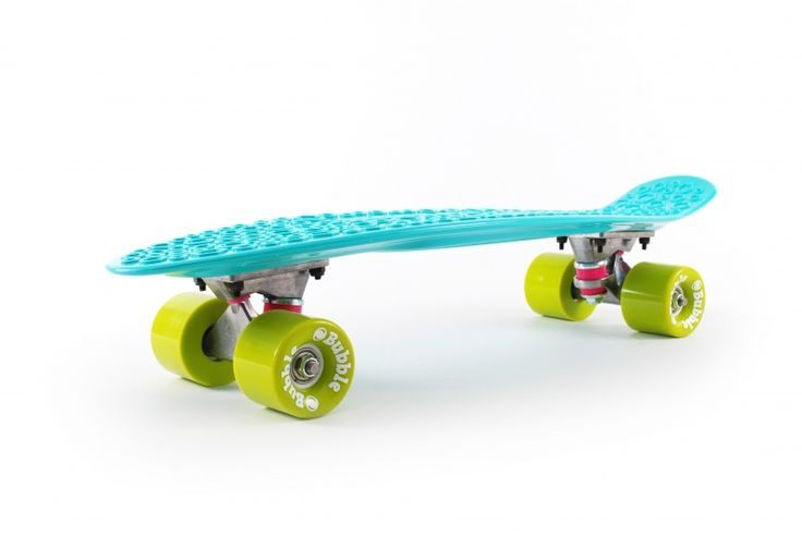 Skateboard turquoise by Bubble Recycled Skateboards
