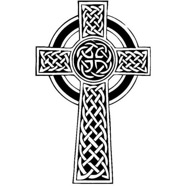 Celtic cross coloring pages car interior design for Celtic cross coloring pages