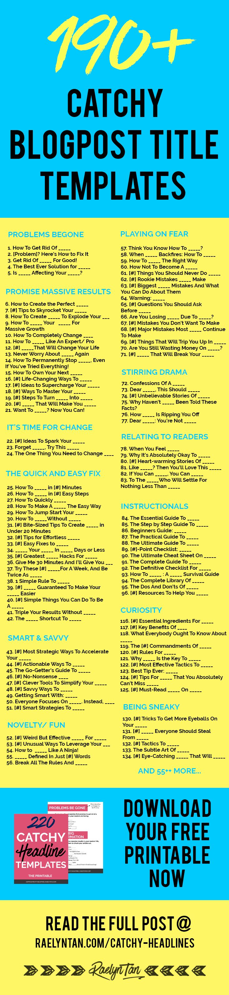 I love the idea of titles that convert being ready-to-go in a chart. Helps save some time.