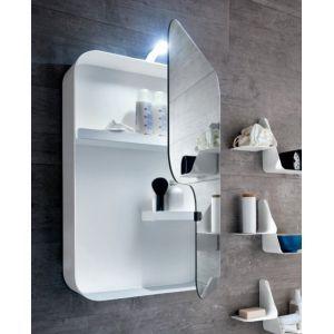 Specchio e specchiera Quadra serie Tulip - Arblu
