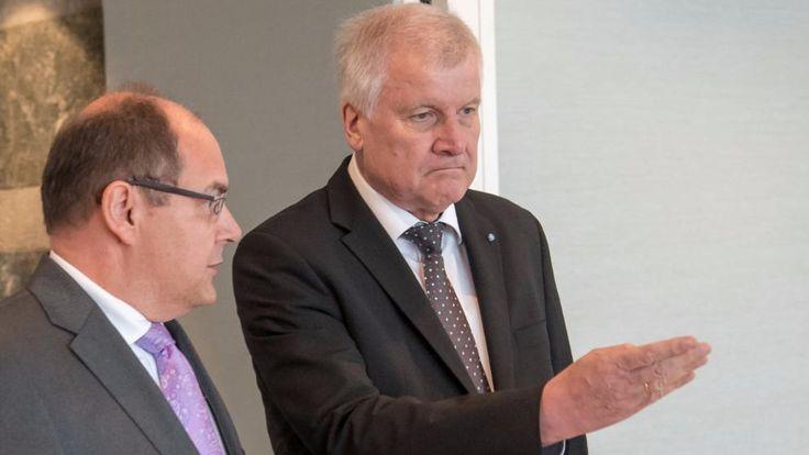 Landwirtschaftsminister Christian Schmidt und CSU-Chef Horst Seehofer