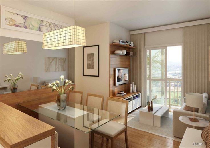 Decora o de apartamento 47m pesquisa google ideias for Ver pisos decorados