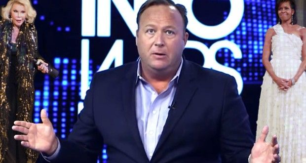 Watch Insane Conspiracy Theorist Alex Jones Explain Why He Thinks Michelle Obama is a 'Tranny' | Americans Against the Tea Party