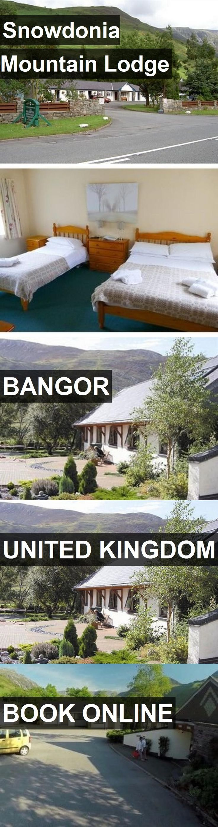 Hotel Snowdonia Mountain Lodge in Bangor, United Kingdom. For more information, photos, reviews and best prices please follow the link. #UnitedKingdom #Bangor #travel #vacation #hotel