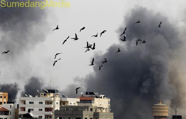 Israel Menjatuhkan 200 ribu ton Bom ke Gaza