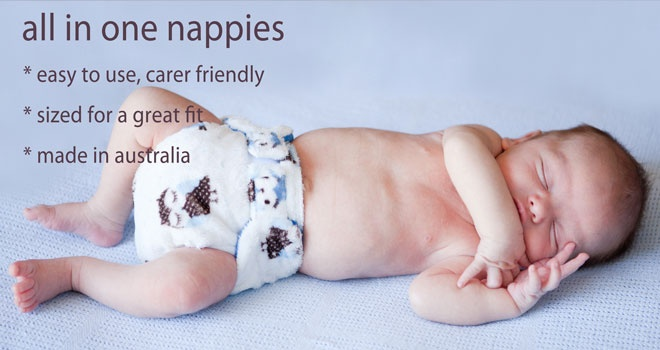 Bubblebubs, Australian Made Modern Cloth Nappies/Diapers beautiful newborn baby