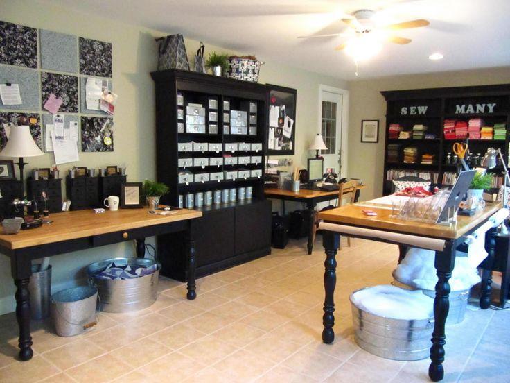 .: Sewingcraft Rooms, Spaces, Sewing Rooms Organizations, Sewingroom, Dreams, Room Ideas, Rooms Ideas, Craftroom, Sewing Crafts Rooms