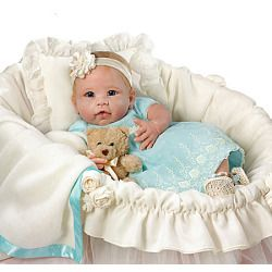 Linda Murray You Are So Beautiful Handcrafted Baby Doll - Realistic Baby Dolls