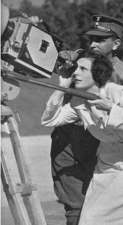 Talantiert aber mit gefährlicher nähe zum NS-Regime: Regisseurin Leni Rieffenstahl in den 1930er Jahren