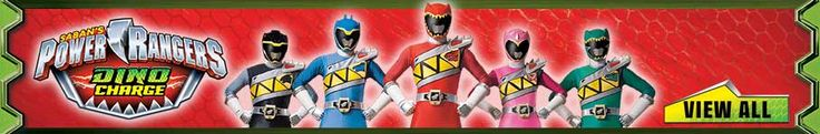 Power Rangers are now at Smyths Toys