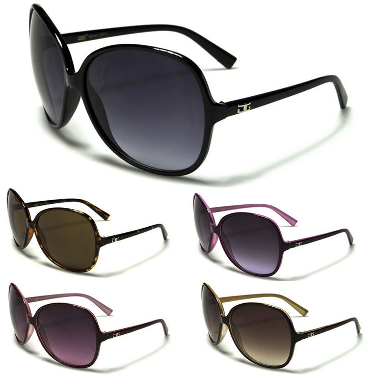 Oversized Cg Round Butterfly Vintage Women Sunglasses Black Brown Pink Frame