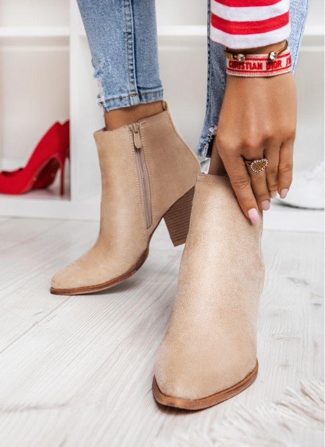 Https Deezee Pl Botki Bezowe Botki New Chance Deezee Ccc Ankle Boot Fashion Boots
