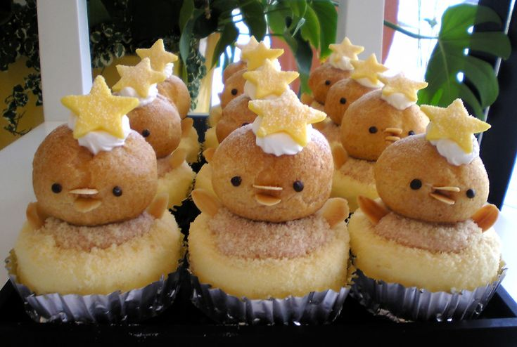 Cute Baby Chick Cupcakes!