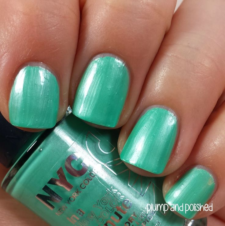 Plump and Polished: NYC In A New York Color Minute Quick Dry Nail ...