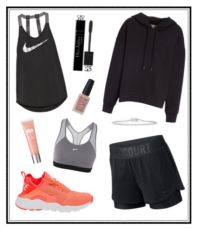 """#165"" by e-elmedal on Polyvore featuring NIKE, Burberry, Christian Dior and Kester Black"