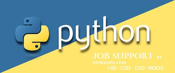 Need #Pythonjobsupport for any topic like #Django, #DataScience, #Numpy, #DataMining, #StockTrading, Home Automation and etc. Visit: http://www.dwbiadda.com/courses/python-online-course/