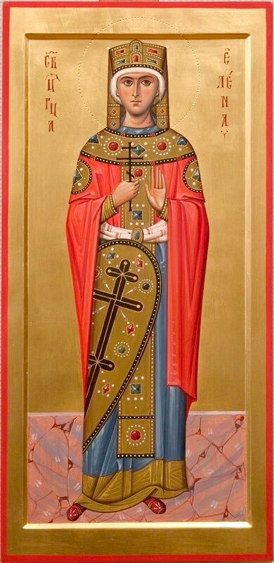 Equal of the Apostles Helen, the Mother of the Emperor Constantine and  Discoverer of the True Cross (250-330)