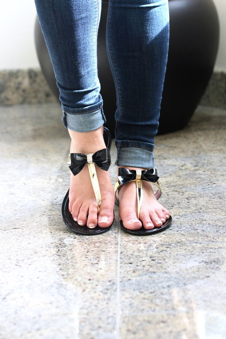 Jelly Bow Sandal